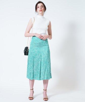 【セットアップ対応商品】カラーチータープリントスカート
