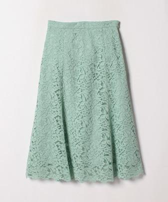 【Loulou Willoughby】コードレースセミフレアスカート