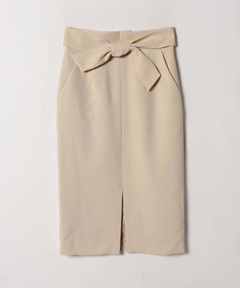 【セットアップ対応商品】スラブオックスフロントスリットスカート