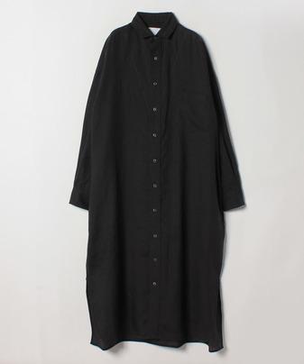 TICCAリネンビッグロングシャツ