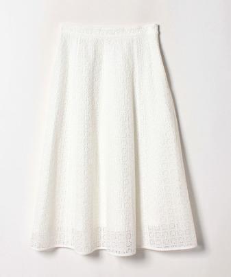 【セットアップ対応商品】【Loulou Willoughby】ローンシシュウ切替フレアスカート