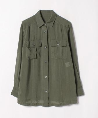 ラミーレーヨンシャツジャケット