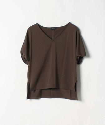 ソデネジリVエリTシャツ