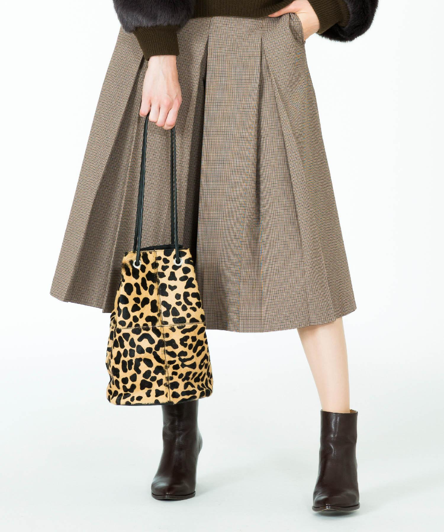 【MARCO MASI per allureville】 ヘアカーフ巾着ショルダーバッグ