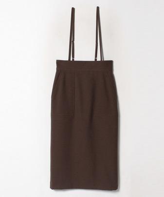 ★ポリエステルツイルサロペットスカート
