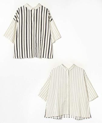 RITO ストライプシャツ