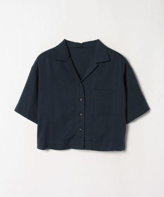 【セットアップ対応商品】オープンカラーワイドスリーブシャツ