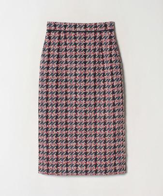 【Loulou Willoughby】トリコロールチェックタイトスカート