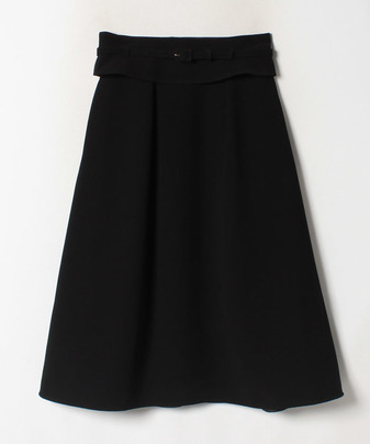【Loulou Willoughby】ジョーゼットベルト付きスカート