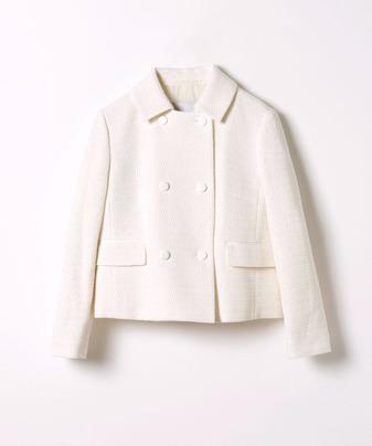 【Loulou Willoughby】カラミツイードステンカラージャケット