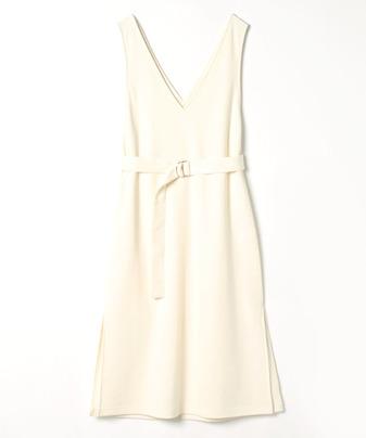 【セットアップ対応商品】圧縮スムースジャンパースカート