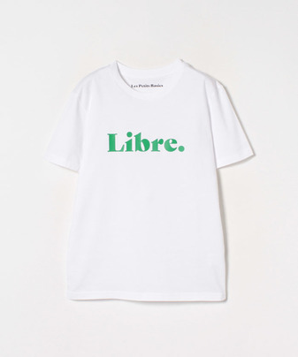 【Les Petits Basics(ル ベーシック)】 プリントT