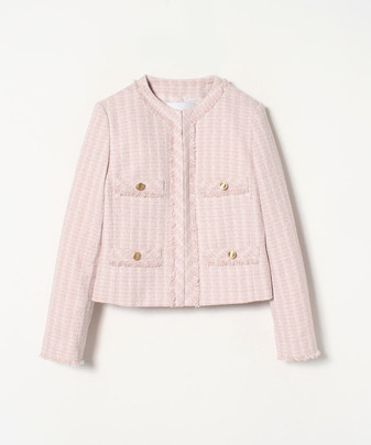 【セットアップ対応商品】ファンシーツイードジャケット