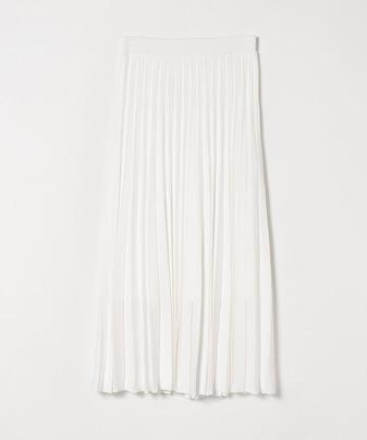 【セットアップ対応商品】プリーツニットスカート
