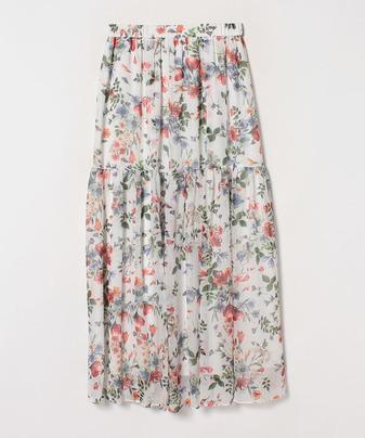 ランダムボタニカルスカート