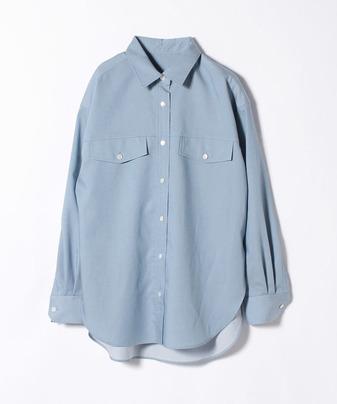 リヨセルポリツイルシャツ