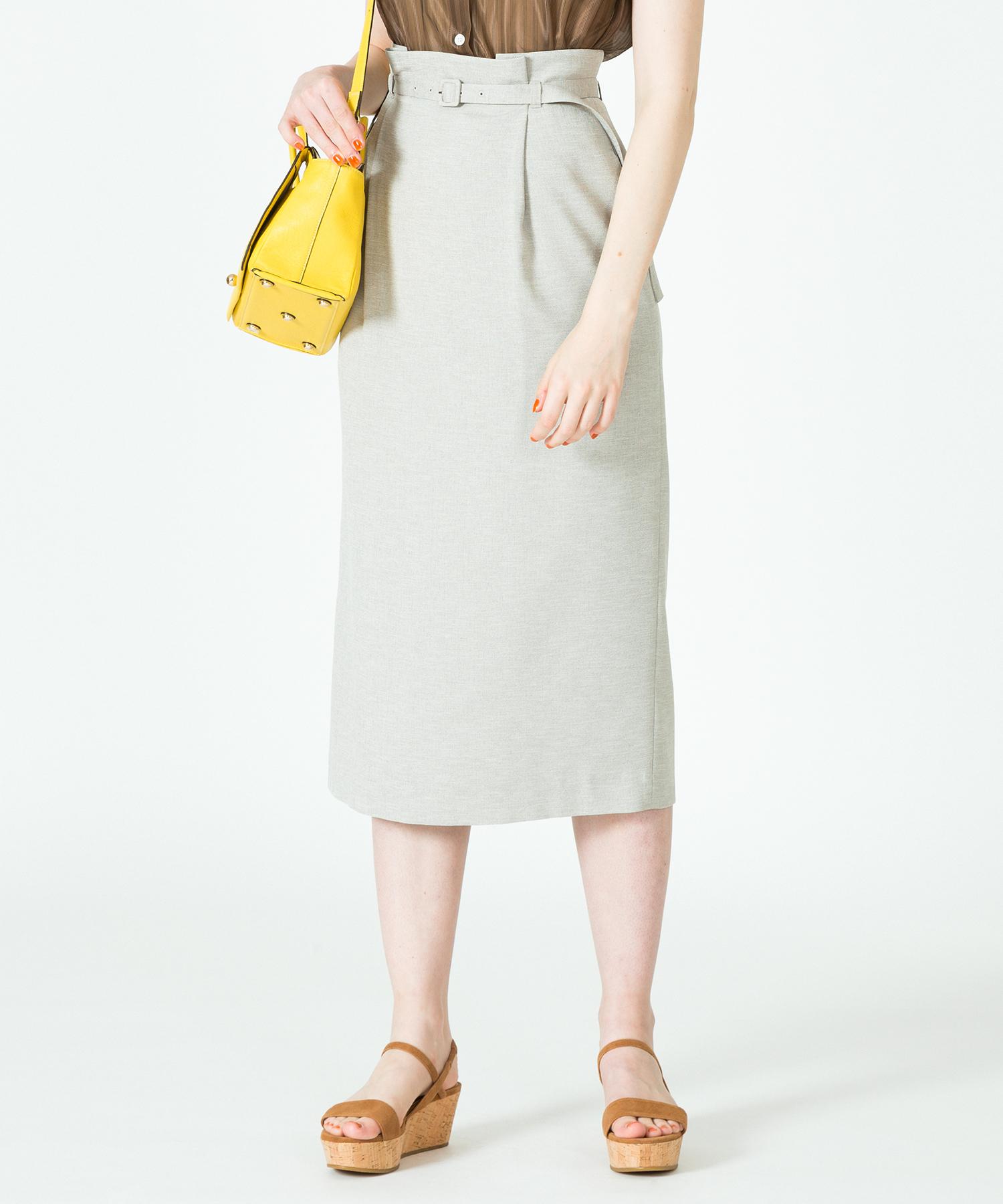 【セットアップ対応商品】アサチョウオックスペンシルスカート