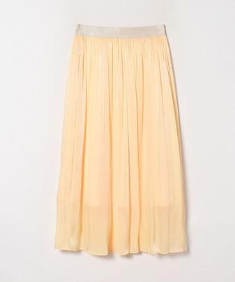 【Loulou Willoughby】シャンブレーヨウリュウギャザースカート