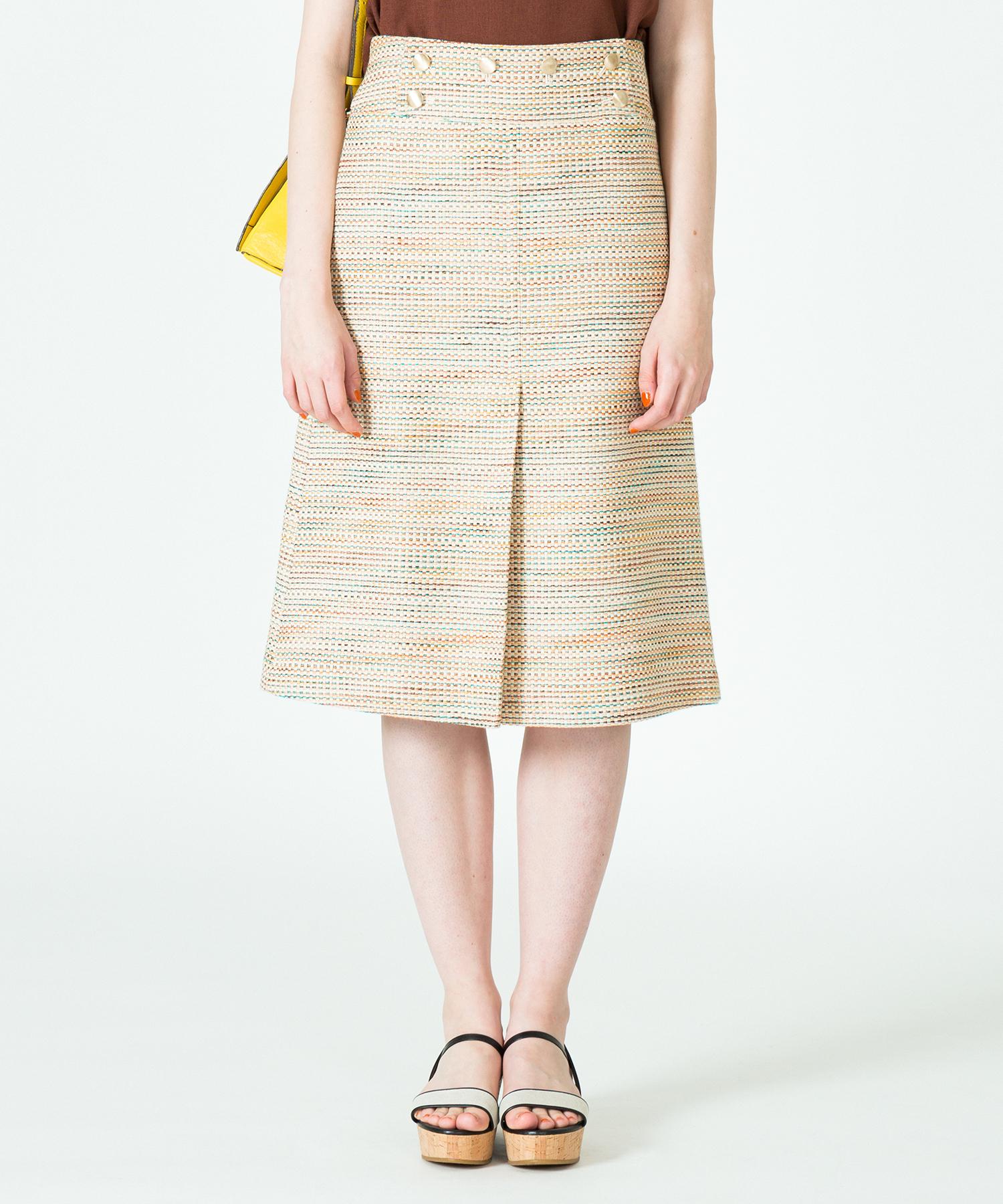 マルチツイードマーメイドスカート