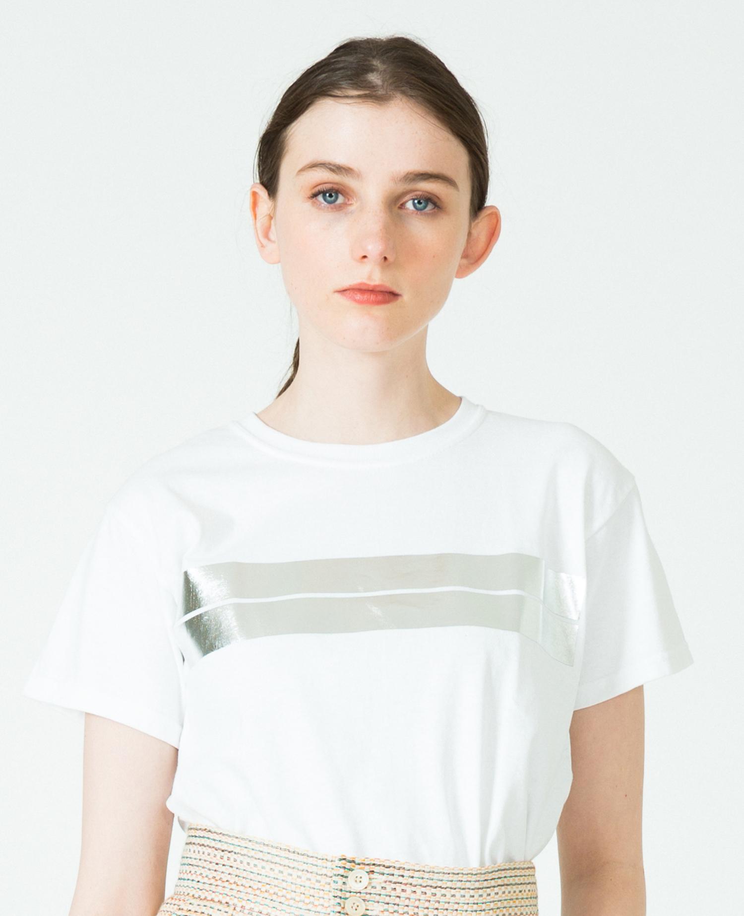 FOIL TWINBORDERTシャツ