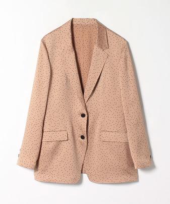 【セットアップ対応商品】ランダムドットテーラードジャケット