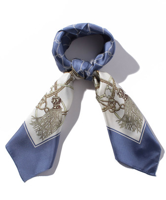タッセルロープシルクスカーフ