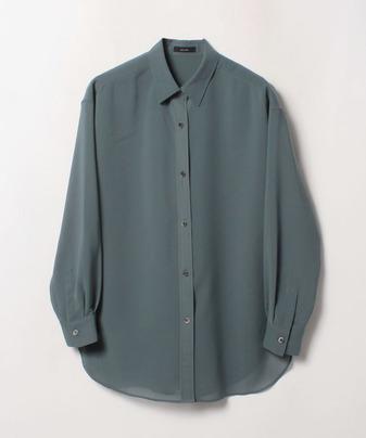 ボイルロングシャツ