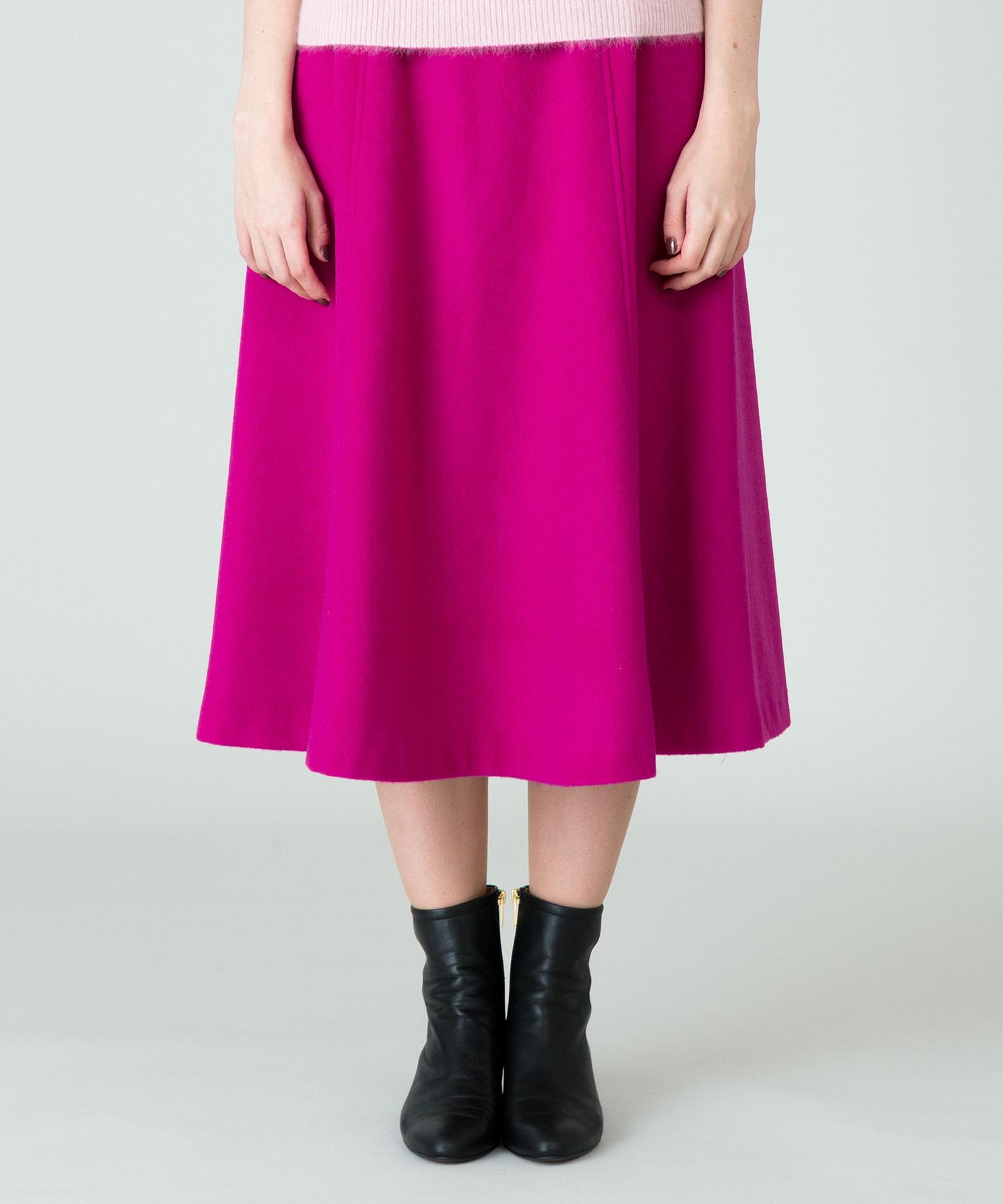 【LOULOU WILLOUGHBY】ビーバーフレア―スカート