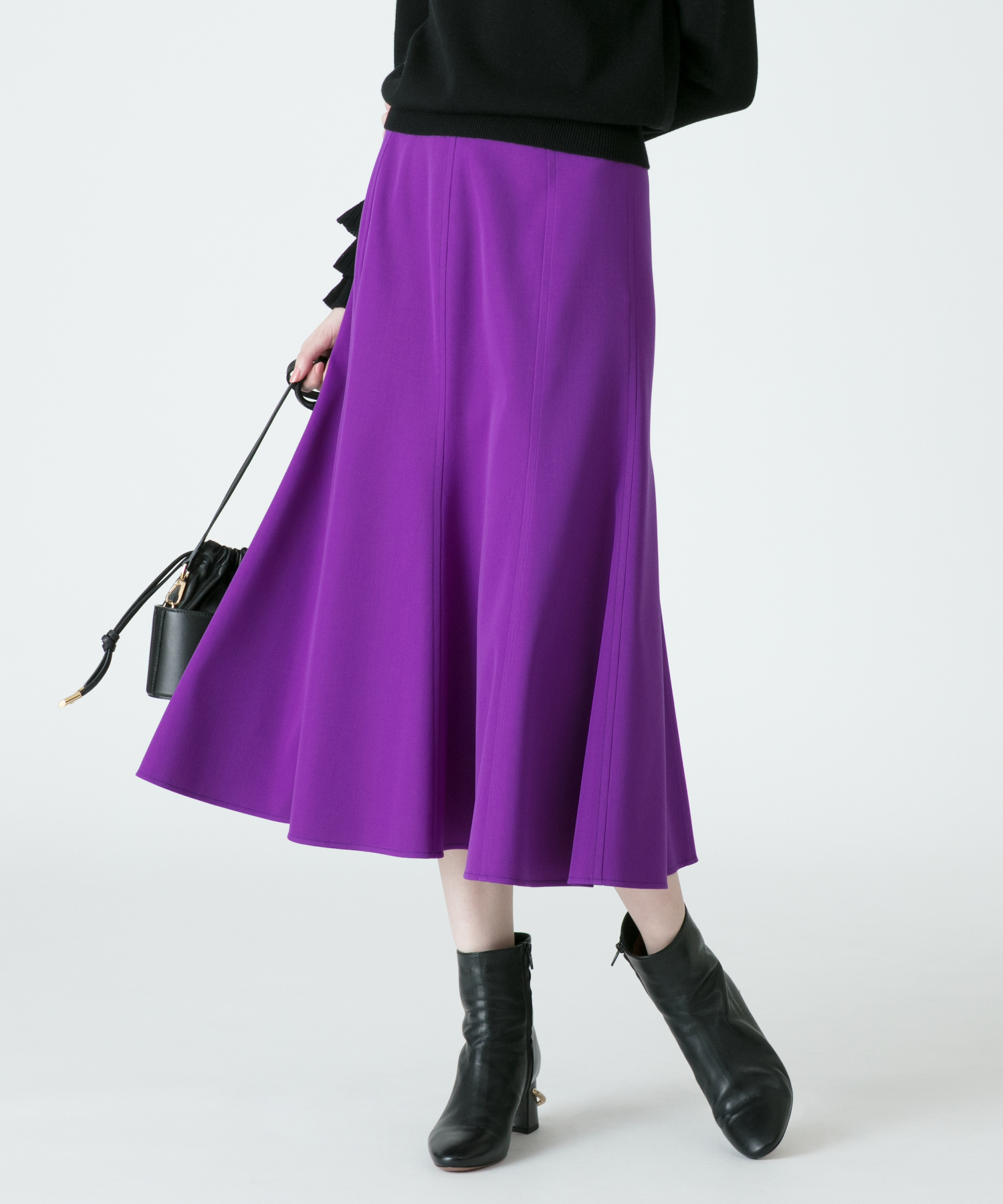 【Loulou Willoughby】ダブルクロスマーメイドスカート