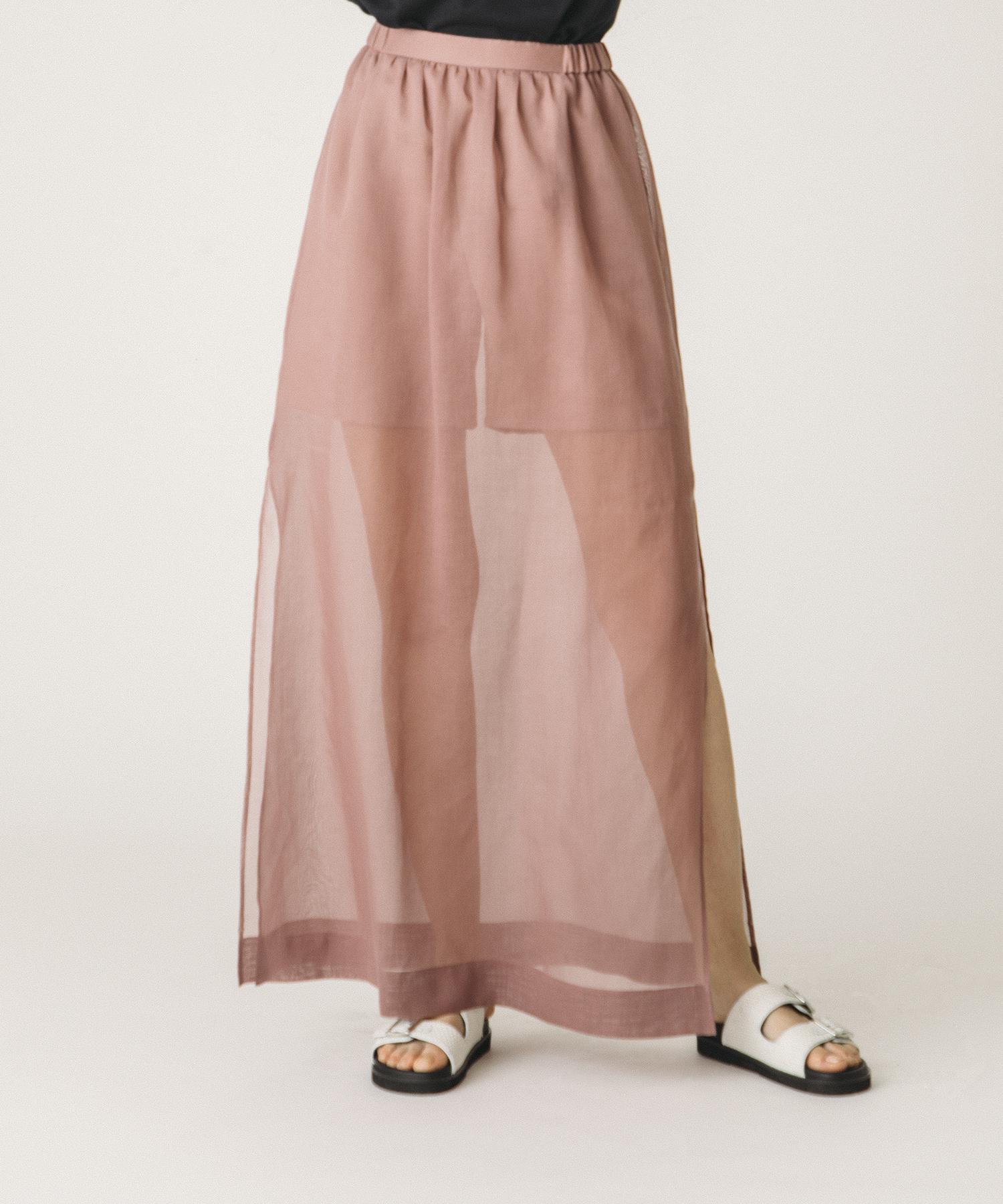 シアーオーバースカート