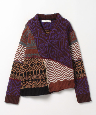 TELA PATCH KNIT