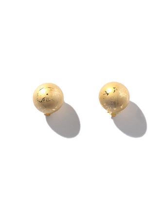 【MARION GODART(マリオンゴダール)】GOLD BALL EARRINGS