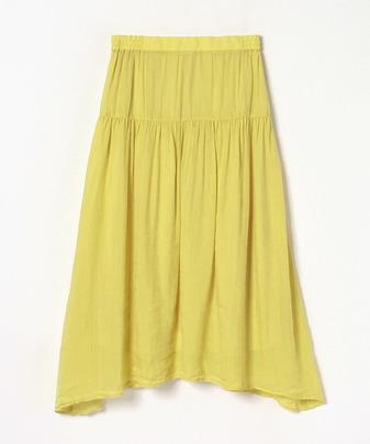 【セットアップ対応商品】ラミーレーヨンギャザースカート