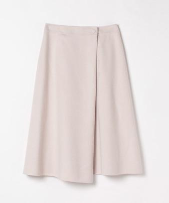 ウールリバーラップスカート
