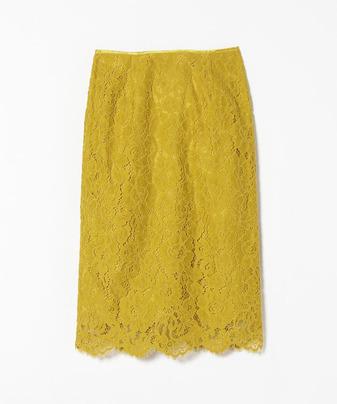 【セットアップ対応商品】ピオニーレースタイトスカート