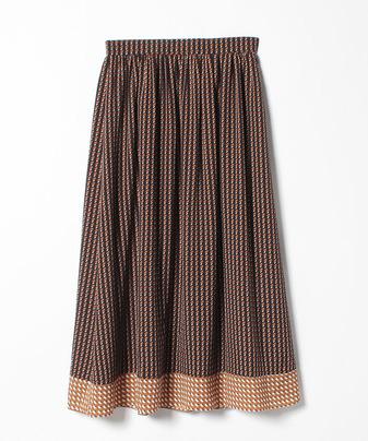 【セットアップ対応商品】ミニキカプリントギャザースカート