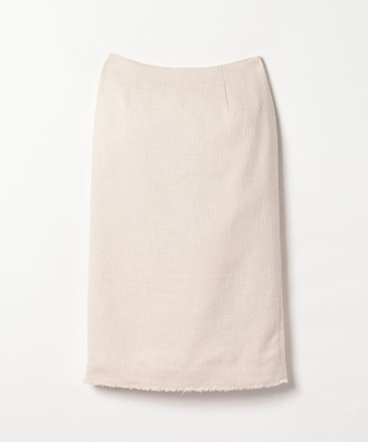 【セットアップ対応商品】スラブツイードタイトスカート