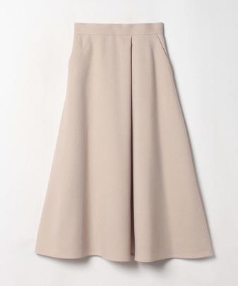 ウールライクポリフレアスカート