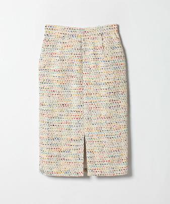 【セットアップ対応商品】【Loulou Willoughby】マルチカラーTWタイトスカート