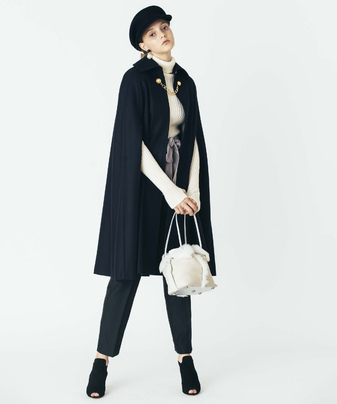 【Loulou Willoughby】ケープコート
