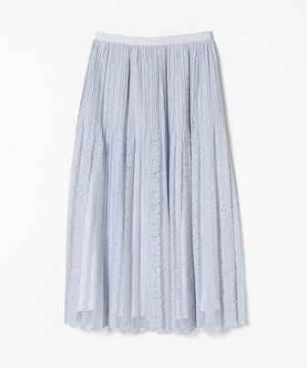 【Loulou Willoughby】チュールレースプリーツスカート