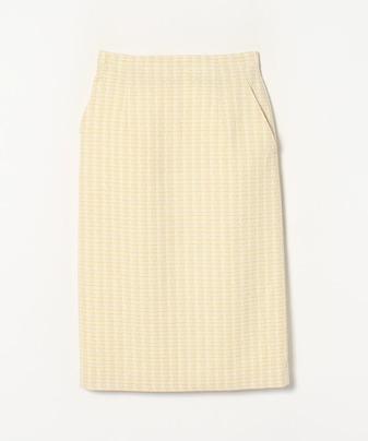 【セットアップ対応商品】ファンシーツイードタイトスカート