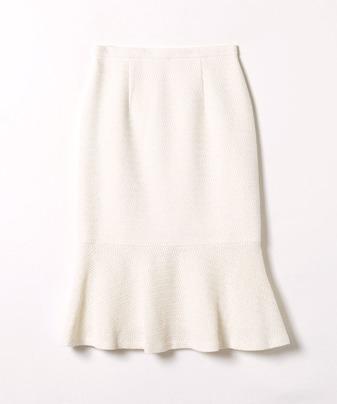 【LOULOU WILLOUGHBY】 カラミツイードマーメイドスカート