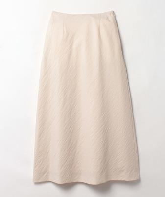 フレンチカルゼバック釦ナロースカート