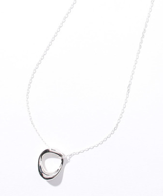 【Soierie(ソワリー)】NEO HOOP NECKLACE