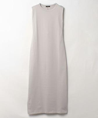 タックショルダーTドレス