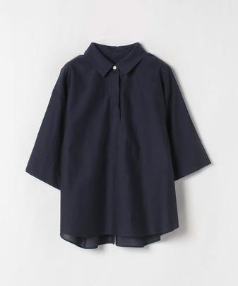 CU/Cブロードバック釦シャツ