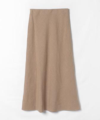 リネンナロースカート
