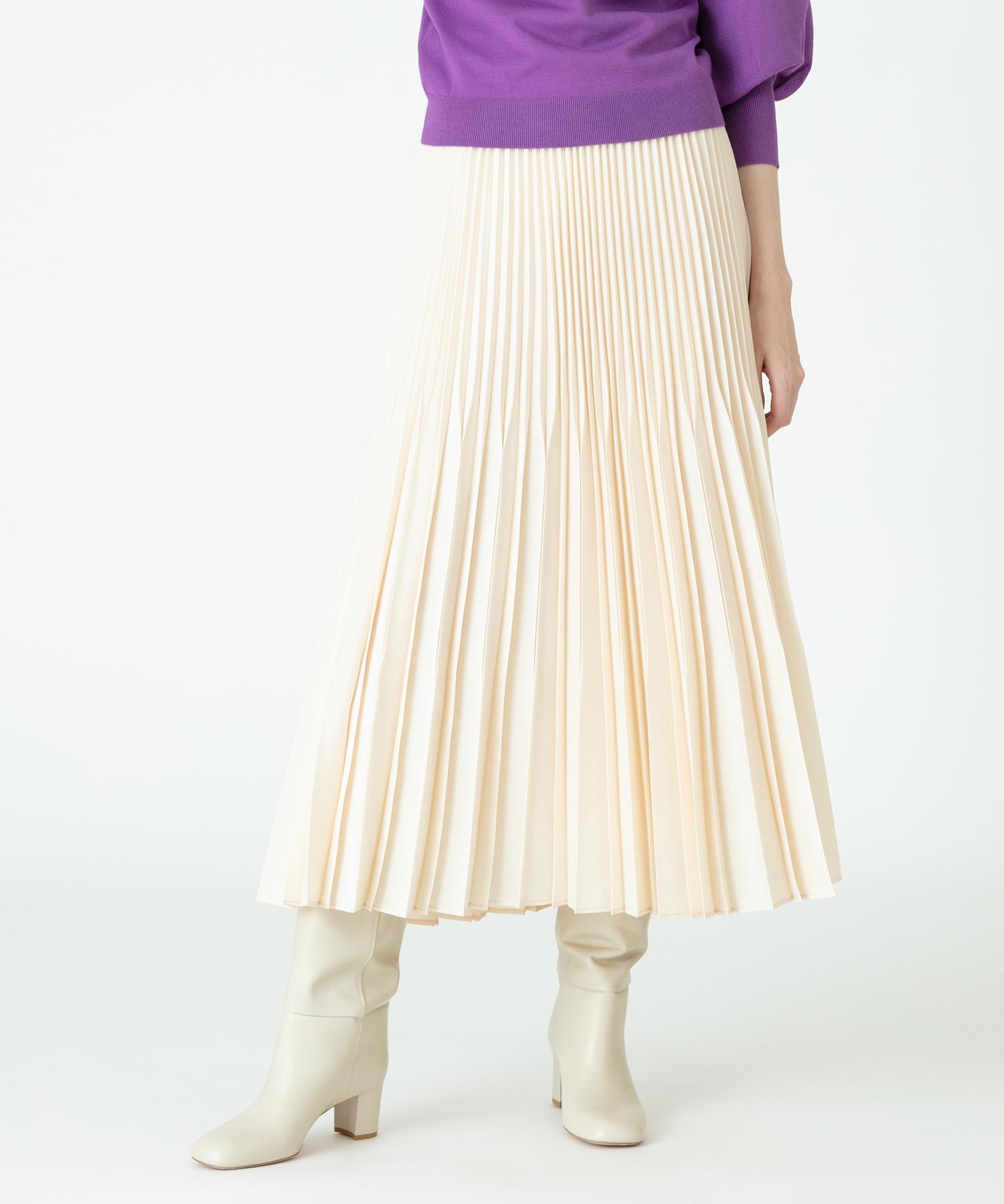 【Loulou Willoughby】ビンテージタフタプリーツスカート