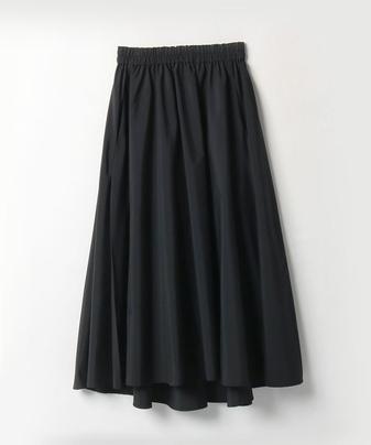 【LOULOU WILLOUGHBY】タフタタックフレアースカート